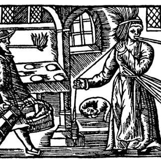 Middeleeuwen Drinkhoorns – buidels – messen – tondel - vuur en meer