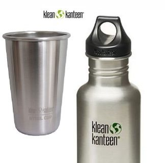 Klean Kanteen cups bottles and drinkware