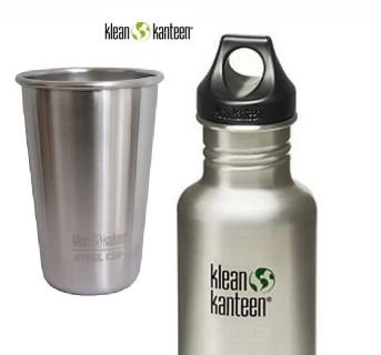 Klean Kanteen cups bottles and drinkware